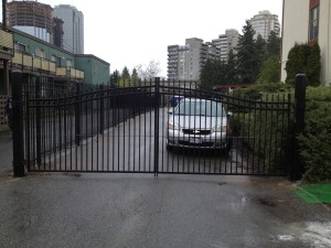 commercial security fencing and gating QS Fencing Vancouver